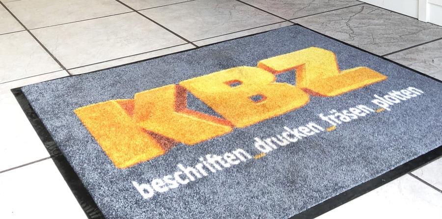Logo-Fußmatten