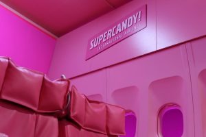 Forexdruck für Supercandy Pop Up Museum