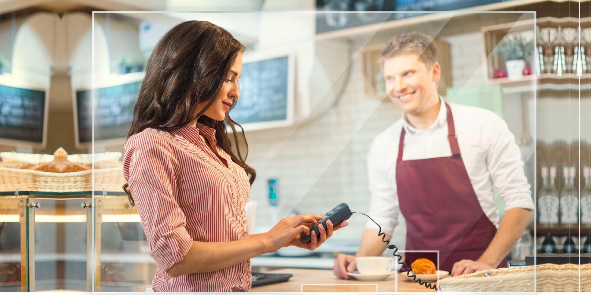 Transparente Acrylscheibe als Spuckschutz für Apotheke, Praxis und Ladengeschäft